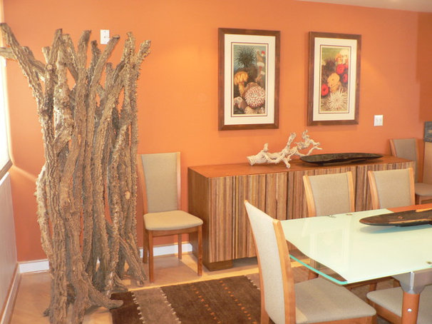 Beach Style Dining Room by Timothy De Clue Design L.L.C
