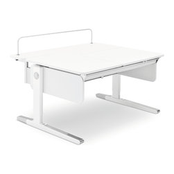 Moll - Champion Kids' Desk Multideck Extension - Everyone needs a backup strategy when things get out of hand. When bigger books, piles of homework or monster craft projects threaten to take over, you can add this extension to the back of your Champion Kid's Desk for extra space.