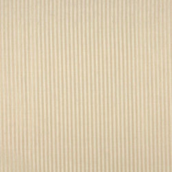 Beige Thin Stripe Upholstery Fabric By The Yard - Naturally colored upholstery fabrics are warm and inviting, which make this an excellent choice for any room! Of course, this fabric is excellent for correlating with other furniture.