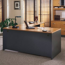 Bush Series C Double Lateral File and Hutch - If you have ...
