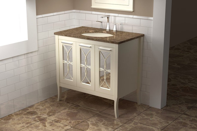 Traditional Bathroom Vanities And Sink Consoles by The Furniture Guild