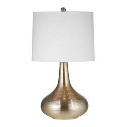 Bassett Mirror - Bassett Mirror Norco Table Lamp L2804TEC - Bassett Mirror Norco Table Lamp L2804TEC