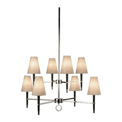 Ventana 2 Tier Chandelier by Robert Abbey -