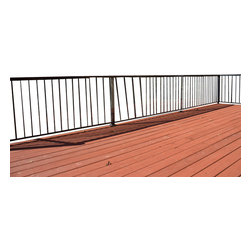 Cardinal Gates - 15' Clear Outdoor Deck Shield for Child Safety - Protect your family from unsafe openings on your back deck without marring the view of the great outdoors, with this clear deck shield. This see-through shield is made of durable, UV-resistant solid plastic. It attaches easily with provided cable ties, and can be cut to your desired length.
