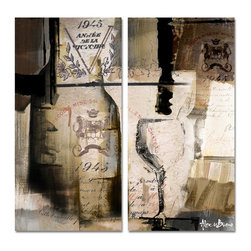 Ready2HangArt - Alexis Bueno 'Fine Reserve' Oversized Canvas Wall Art (2-Piece) - This oversized abstract canvas art set is the perfect addition to any contemporary space. It is fully finished, arriving ready to hang on the wall of your choice.
