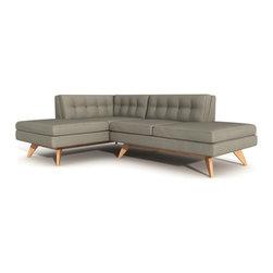 True Modern - True Modern   Luna Double Bumper Loft Sofa - Design by Edgar Blazona