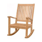 Anderson Teak - CHR101 Del-Amo Rocking Armchair - This Rocking Chair is very versatile and comfortable for relaxing after a tight and tiring day.