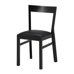 Ehlén Johansson - ROGER Chair - Chair, black, Bas black