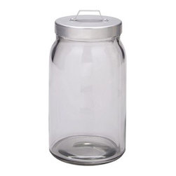 Burken Jar with Lid, 1.1 Liters - I love these jars for storing cotton balls and Q-tips. My daughter uses several for bathroom essentials, but they could be great storage for those midnight candy snacks as well.