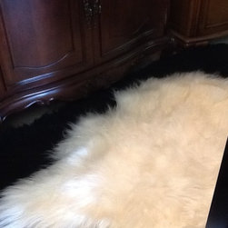 Hides in your home! - Sheepskin....ooh la la luxurious...imagine stepping out of the bath onto pure heaven