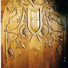 Traditional Wine Cellar by Erik Wyckoff Artworks