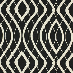nuLOOM - Contemporary 5' x 8' Black Hand Hooked Area Rug BC65 - Made from the finest materials in the world and with the uttermost care, our rugs are a great addition to your home.
