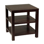 "Avenue Six - Merge 20"" Square End Table - Avenue Six Merge 20"" Square End Table"