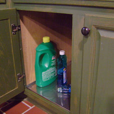 cabinet and drawer organizers by Bradco Stainless Products Co.