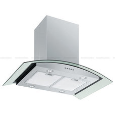Modern Kitchen Hoods And Vents by Range Hoods Inc