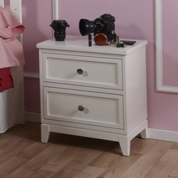 Pali Designs - Pali Designs Treviso Nightstand - 1514-WH - Shop for Nightstands from Hayneedle.com! Never underestimate the power of the Pali Designs Treviso Nightstand for keeping your child in bed. Excuses come fast and freely when children see a potential escape route at bedtime. But this convenient nightstand keeps them right where they're supposed to be to get a good night's rest for the next busy day of growing ahead. With just enough surface area for a lamp (in case they get scared) a cup of water (in case they get thirsty) or a couple of books to help them settle down (in case they claim they're just not tired) this small nightstand is a perfect bedside companion. As your child grows the nightstand almost seems to grow with them. When your baby first enters the nursery no doubt the top will have on constant display mementos from their first days with you along with an assortment of bottles and burp cloths or whatever may get deposited over the course of nighttime feedings. Then as your tot grows you can watch his or her interests and intelligence take shape with the various picture books you read to them at bedtime followed by the books that they beginning reading themselves. And even when your little one is no longer quite so little you'll find a nightstand covered in homework that will eventually and finally transition back to mementos and decorative displays that capture the whole journey. This particular nightstand is equipped with decent-sized drawers that help keep that top presentable by allowing your child to stow the stash away when company is coming over.Quality furnishings such as this nightstand exhibit a construction and tastefully classic design that your child will grow to appreciate more and more rather than simply grow out of. This nightstand is part of the collection inspired by the beautiful Italian town of Treviso just outside Venice. Filled with charming canals and ancient walls rising above outdoor cafes and piazzas this town is a treas