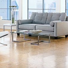Contemporary Floor Tiles by realcorkfloors.com