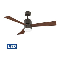 "Fanimation - Fanimation Zonix LED 54"" 3 Blade Ceiling Fan - Blades, LED Light, and Remote Con - Included Components:"