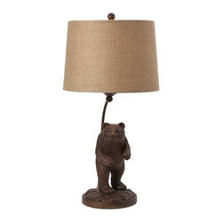 IMAX CORPORATION - Oliner Bear Lamp - Oliner Bear Lamp. Find home furnishings, decor, and accessories from Posh Urban Furnishings. Beautiful, stylish furniture and decor that will brighten your home instantly. Shop modern, traditional, vintage, and world designs.