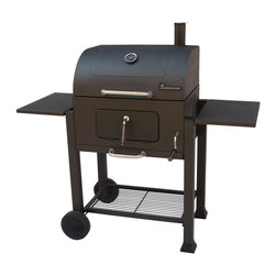 Landmann - Vista Charcoal Grill - -Charcoal pan adjusts to multiple positions by crank handle