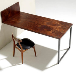 Folding Walnut Dining Table -