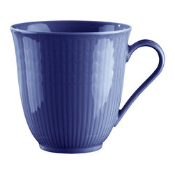 iittala Swedish Grace Mug 10oz Sea - A design classic in six colours. This tableware still evokes the same emotions as when it was unveiled at the Stockholm Exhibition in 1930. Louise Adelborg succeeded in conveying the sensation of ears of wheat swaying in the summer breeze.