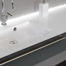 contemporary bathroom vanities and sink consoles by BAUFORMAT