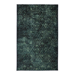 Mohawk Rugs - Mohawk Strata 11747 Teal 8' x 10' Area Rugs - Mohawk Strata 11747 Teal 8' x 10' Area Rugs