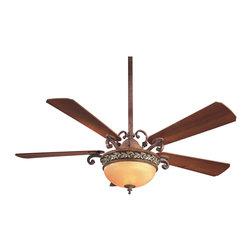 """Minka Aire - Minka Aire F707FLP Salon Grand Florence Patina 56"""" Ceiling Fan - Minka Aire F707FLP Salon Grand Florence Patina 56"""" Ceiling Fan"""