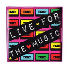 Charge it by Jay LC Square Tray-Live for the Music