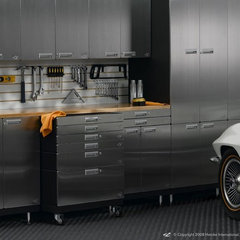modern storage and organization by Hercke Cabinet Company and Minden Grill Company