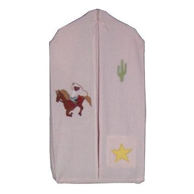 Patch Magic - Lil Yeeehaw Diaper Stacker - 12 in. W x 23 in. L. 100% Cotton. Handmade, hand quilted. Machine washable. Line or flat dry only