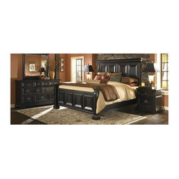 Pulaski - Brookfield 3-Piece Bedroom Set (Queen) - Choose Bed: Queen