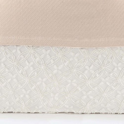 Pine Cone Hill Candlewick Dove White Bed Skirt - This may be one of the prettiest bed skirts I've ever seen. The gorgeous texture would add something special to any bedroom. It's even machine washable!