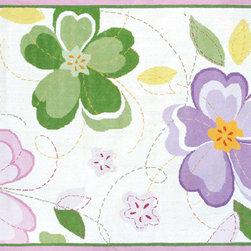 The Rug Market - Flower Stitch area rug -