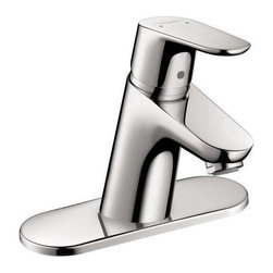Hansgrohe - Hansgrohe Focus 70 Single Hole Faucet, Chrome (04370000) - Hansgrohe 04370000 Focus 70 Single Hole Faucet in Chrome