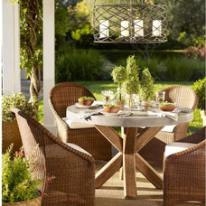 contemporary patio furniture and outdoor furniture by Pottery Barn