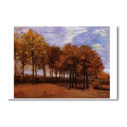 "PosterEnvy - Autumn Landscape 1885 - Vincent van Gogh - Art Print POSTER - 12"" x 18"" Autumn Landscape 1885 - Vincent van Gogh Art Print Poster on heavy duty, durable 80lb Satin paper"