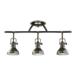 Kichler Lighting - Kichler Lighting 7050OZ Hatteras Bay Contemporary Track Light In Olde Bronze - Kichler Lighting 7050OZ Hatteras Bay Contemporary Track Light In Olde Bronze