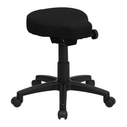 Flash Furniture - Flash Furniture Stool X-GG-0261-LW - This backless stool is practical for any fast-paced environment. The small frame design of a backless stool makes it easy to maneuver around tight spaces with ease. This stool can be used in a multitude of environments from the Classroom, Doctor's Offices, Hospitals, Garages and Workshops. [WL-1620-GG]