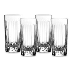 Royal Doulton - Royal Doulton Manhattan HighBall Glass (Set of 4) - A classy addition to your home dining, The Royal Doulton Manhattan Highball Glasses are great for any ocassion. From gin and tonic to soda or iced tea, this collection is perfect for parties, casual dinners, get togethers, and more.