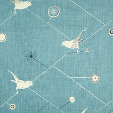 Eclectic Upholstery Fabric by Vanessa Arbuthnott