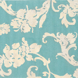 The Rug Market - Toulouse Blue area rug -