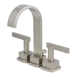 World Imports - World Imports SCL450SN Schon Nickel Faucet - World Imports SCL450SN Schon Satin Nickel Bath Faucet