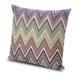 Missoni Home - Missoni Home | Quick Ship: Kew Green Pillow 24x24 - Design by Rosita Missoni.