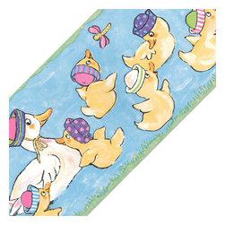 York Wallcoverings - Ducks Animals Bedroom/Bathroom Wall Paper Border Roll - Features: