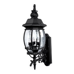 Capital Lighting - Capital Lighting 9863 3 Light Outdoor Wall Fixture - Capital Lighting 3 Light Outdoor Wall Fixture from the French Country Collection