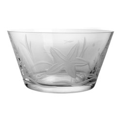 Starfish Clear Small Bowl 6 Set of 4