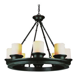 Trans Globe Lighting - Trans Globe Lighting 3368 ROB Chandelier In Rubbed Oil Bronze - Part Number: 3368 ROB