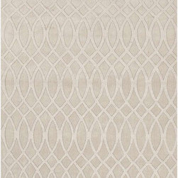 Solids/ Handloom Solid Pattern Wool Ivory/White Area Rug, 2x3 - This collections offers simple modern geometrics in all the fashion colors. Hand loomed in 100% wool each rug make a bold  solid  color statement to compliment contemporary interiors. The pattern and texture is created through a high/low loop and pile construction.